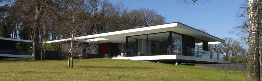 Woonhuis barchem maas architecten - Kubieke villa ...